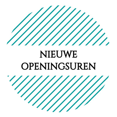 Nieuwe openingsuren